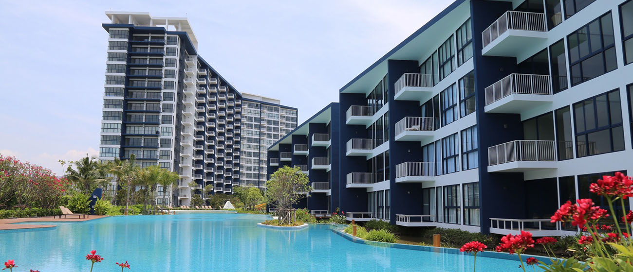 Condo Thewtalay BlueSapphire ChaAm-HuaHin-Project Progress